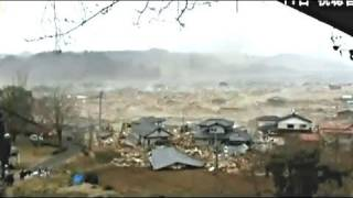Minamisanriku devastated by tsunami: 10 000 dead or missing (Japan - March 12 2011)