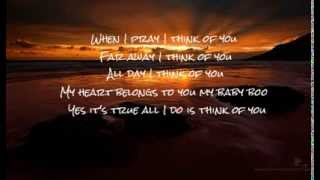 I Think Of You  - Taj Jackson (Lyrics)