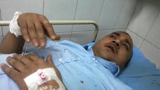 Ashish Ranjit , one of the survives of Plane crash in TIA in Kathmandu say he was survived by luck