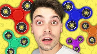 SPLATOON PAINT FIDGET SPINNERS? (What're Those?!)