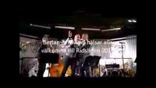 Bertan & Micke inleder höstfesten i Risliden 2013