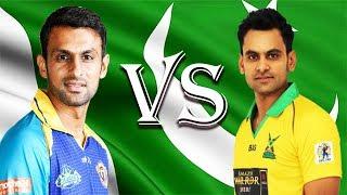 Shoaib Malik vs Mohammad Hafeez. Who is the Best Batsmen in CPL?