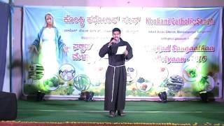 Sahamilan 2016 : Konkani Song by Bro. Roshan