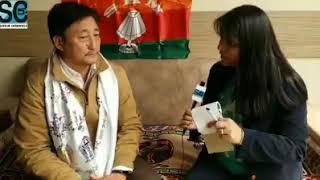 Skm Lachen Mangan Candidate Samdup Lepcha,ready To Face The Challenge