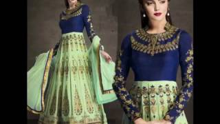 Floor Length Anarkali Suits Collection 2016-2017 By Designersandyou
