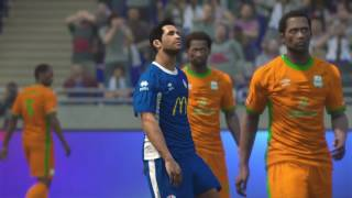 PS4 PES 2017 Gameplay Smouha SC vs ZESCO United HD