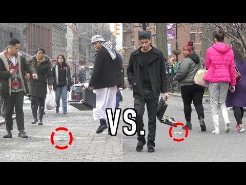 Xxx Mp4 MUSLIM VS NON MUSLIM DROPPING MONEY HONESTY EXPERIMENT 3gp Sex