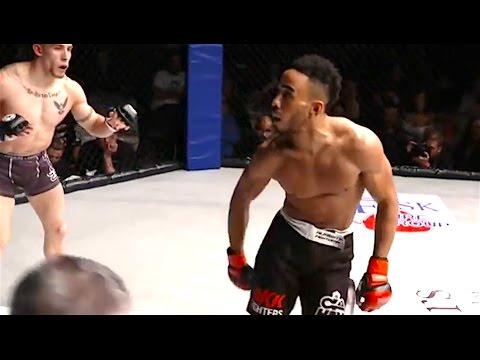 Ozzy Man Reviews MMA Showboating Fail