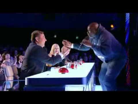 مشارك رقص الجمهور والحكام في مواهب بريطانيا 2012
