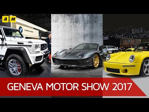 Top 3 auto ignoranti al Salone di Ginevra 2017