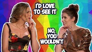 Anna Kendrick & Blake Lively Cracking A Lot Of Jokes