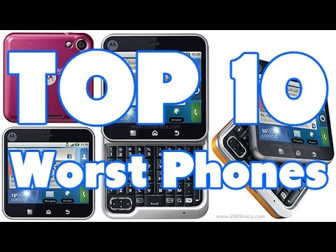 Top 10 Worst Mobile Phones Ever!