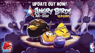 Angry Birds Seasons - Larry Bird plus the NBA All-Star Update!