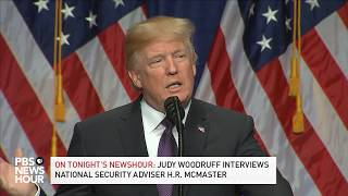 WATCH LIVE: President Trump discusses national security strategy