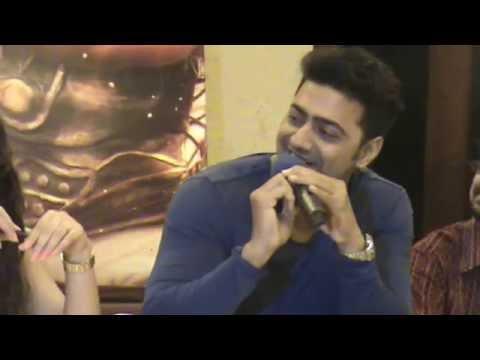 Dev and Mimi at the Music Launch of New Kolkata Bengali Film Yoddha