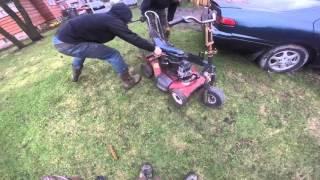 Homemade Riding Lawn Mower