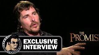 Christian Bale Exclusive Interview for THE PROMISE (JoBlo.com) 2017