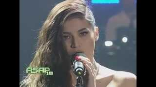 Anne Curtis -'wet look' -no underwear?