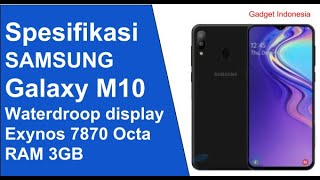 Samsung Galaxy M10 Indonesia | Bocoran Spesifikasi Terbaru