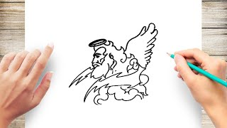 How to Draw Zeus Step by Step Easy