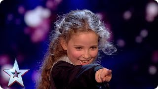 Issy Simpson's magic makes it a night to remember | Semi-Final 2 | Britain's Got Talent 2017