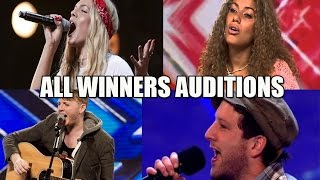 All X Factor WINNERS AUDITIONS Seasons 1-12