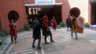 Nukkad Natak performed by JPS, Lucknow in Panorama 2016(bronze medal)