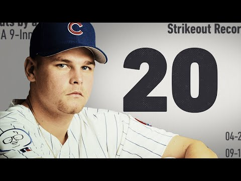 20 The History Behind Kerry Wood s 20 Strikeout Game