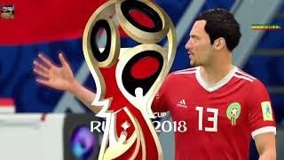PS4 FIFA 18 Gameplay Maroc vs IR Iran [HD]