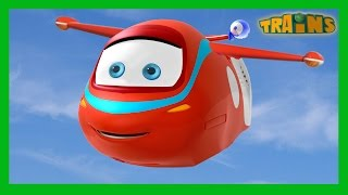 Wings - Trains Cartoon Collection for Children. English Full Episodes