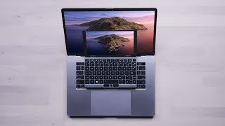 It's like an Apple MacBook Micro...