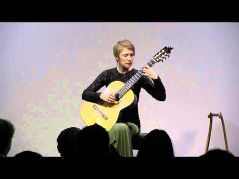 Olga Amelkina Vera Concert in Japan excerpts Bach Mertz Dyens