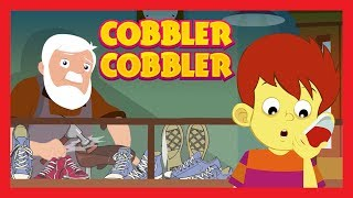 COBBLER COBBLER - English Nursery Rhymes || Kids Hut Rhymes (Animated) || English Poems