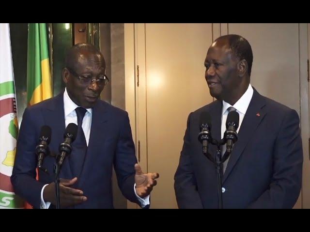 Visite officielle du président béninois Talon en Côte d'Ivoire