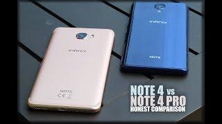 Infinix Note 4 vs Note 4 Pro - Honest Comparison