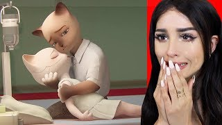 Reacting To The SADDEST Animations (TRY NOT TO CRY)