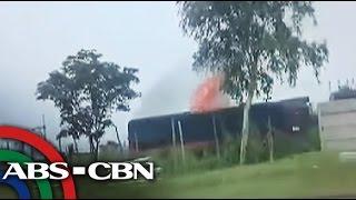 TV Patrol: Tren ng PNR, nasusunog habang umaandar