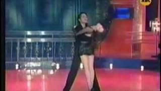 Lucy Torres Gomez Rhumba on ABC5's Shall We Dance