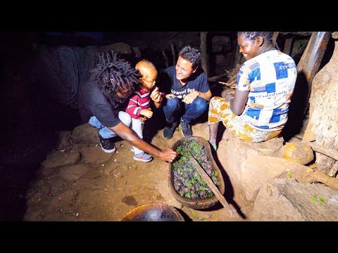 Ethiopian Food in 500 YEAR OLD Konso Village in Ethiopia AMAZING AFRICAN CULTURE