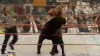 WWE RAW - Sycho Sid Vs The Undertaker (Wrestlemania 13 Rematch)