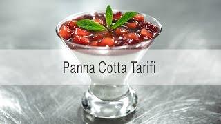 Panna Cotta Tarifi: Çırağan Sarayı Şeflerinden