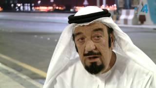"""حسن حسني بالكندورة الإماراتية في """"اضحي في أبوظبي"""""""