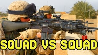 DesertFox Airsoft: Squad vs Squad Bomb Game; Round 1 (Gameplay Commentary)