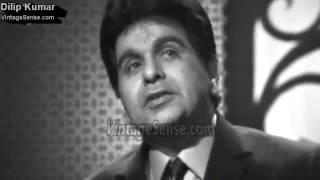 Dilip Kumar Muhammad Yusuf Khan Interviewed in 1970