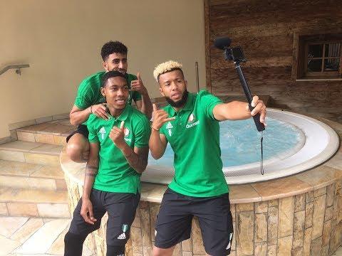 #FeyenoordinAustria: Hoteltour met Boëtius en Vilhena