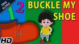 One Two Buckle My Shoe (HD) Sing Along Nursery Rhyme   Popular Kids Rhymes   Shemaroo Kids