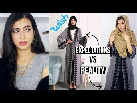 Xxx Mp4 Trying On 11 Muslim Dresses Arab Abayas I Bought On Wish 3gp Sex