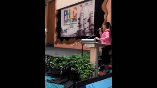 Saliha Azmi - Hosting for Project Gast Terminal (TGAST) Petronas & Samsung. Project HSE Conference.