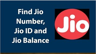 images How To Check Jio SIM Mobile Number Jio ID And Jio Balance