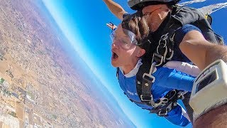 SKYDIVING FOR MY BIRTHDAY!!